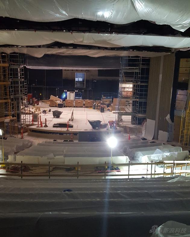 乔布斯剧院探秘:地下四层每个座椅造价1.4万美元