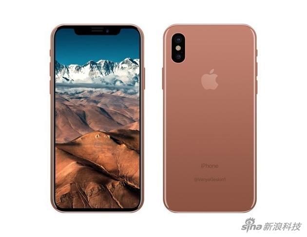 新iPhone新配色渲染图