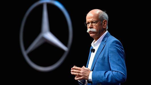 戴姆勒:电动汽车利润率只有传统汽车的1/2