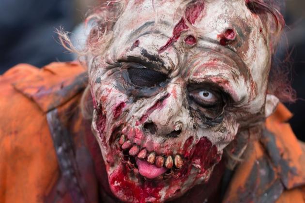 别害怕这张腐烂的脸上凶恶的表情。它的肌肉和中枢神经系统根本无法对你发起攻击。