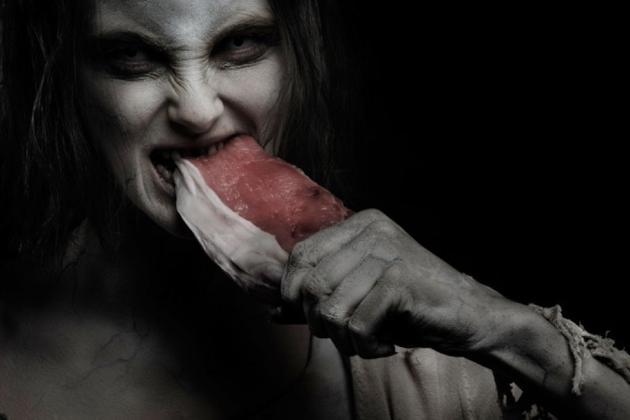 愚蠢的僵尸,你根本消化不了这块肉!