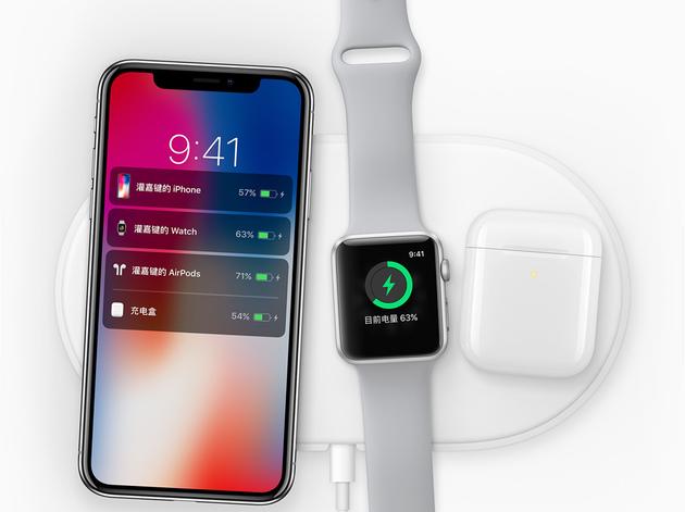 AirPower可同时给三种苹果设备无线充电