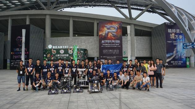 ▲戰車聯盟,桂林電子科技大學是認真的!
