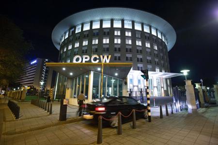OPCW被授予2013年诺贝尔和平奖,旨在表彰其在销毁伊拉克核武器方面做出的贡献