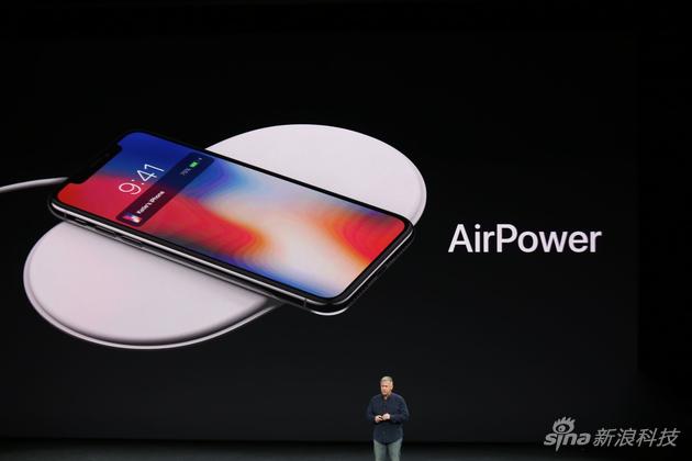 iPhone X支持无线充电
