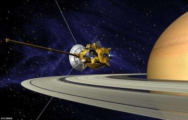 卡西尼探测器已坠落土星:一个伟大时代的告别