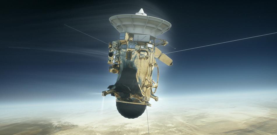 非凡20年旅程的壮丽终章:卡西尼号陨落土星