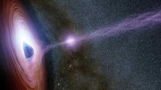 光线如何逃脱宇宙黑暗时代?黑洞使宇宙变光明