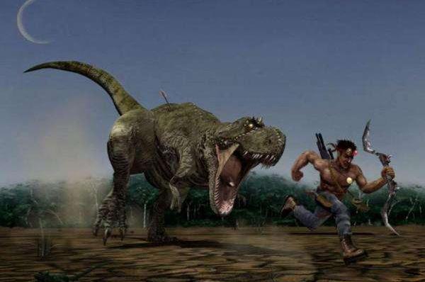 人类如果与恐龙生活一起,他们将面临着更大的生存威胁。