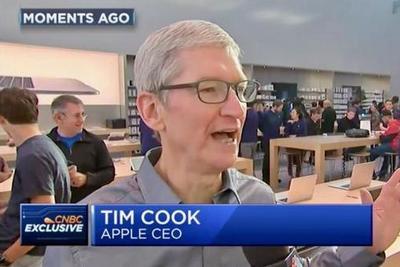 iPhone8发售遇冷 苹果CEO库克表示对发售状况满意