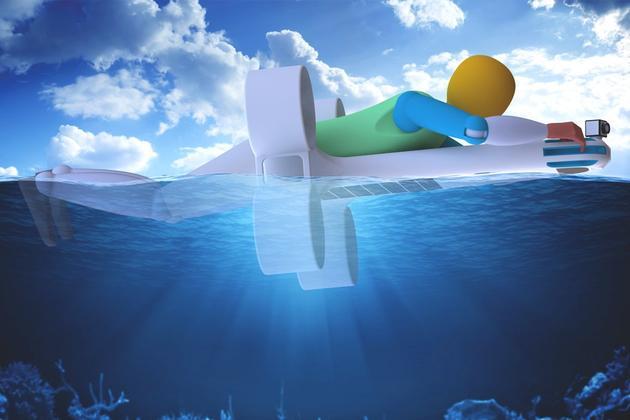 提供充足的浮力和空间来救人