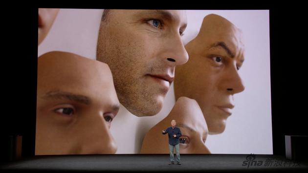 苹果与好莱坞合作做了些面具来锻炼A11仿生芯片的学习能力