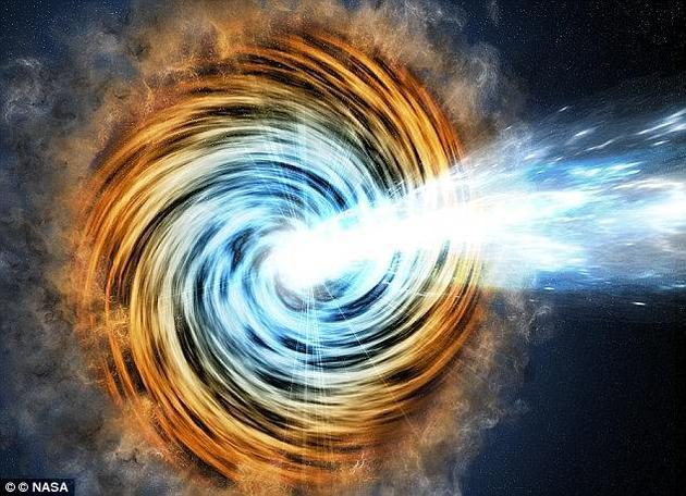 近两亿年前两枚黑洞的相撞被超敏探测器成功捕捉下来。