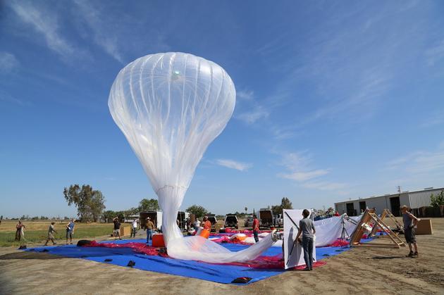 Alphabet获准在波多黎各灾区部署气球通信系统