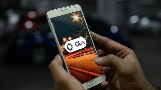 印度打车服务Ola获11亿美元融资 腾讯软银领投