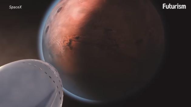 马斯克火星计划面临挑战:如何在火星生存?