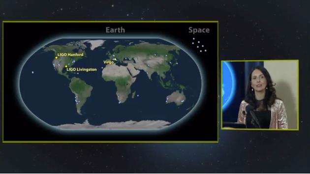 随后,全球70多个天文机构,调用100多台设备,从各个波段对此次引力波事件的光学对应体进行了观测