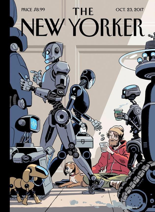 《纽约客》最新一期杂志封面