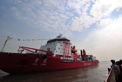 """""""雪龙号""""完成第八次北极科考中国加大北极地区参与"""