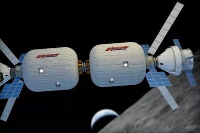 美两私企计划2022年前在月球轨道安置栖息舱