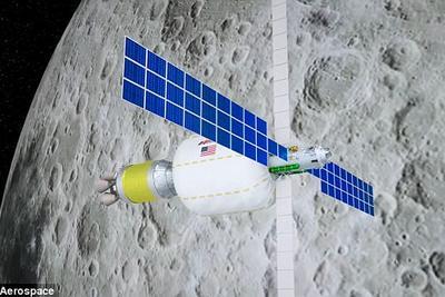 2022年两家私企将在月球轨道建立可膨胀太空站