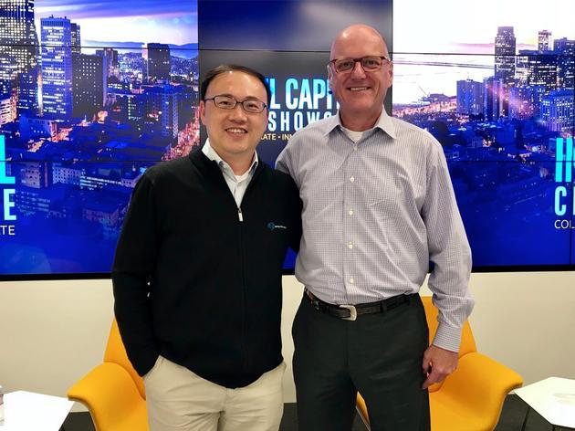 地平线创始人&CEO余凯和英特尔集团高级副总裁&英特尔投资总裁 Wendell