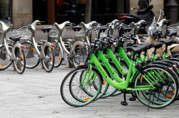 针对共享单车涌入巴黎市场 政府计划出台监管措施