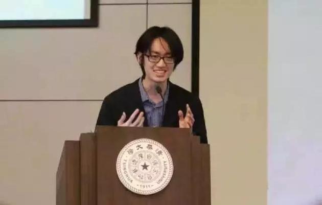 2016年,陈立杰进行清华大学特等奖学金答辩。图片来源于网络