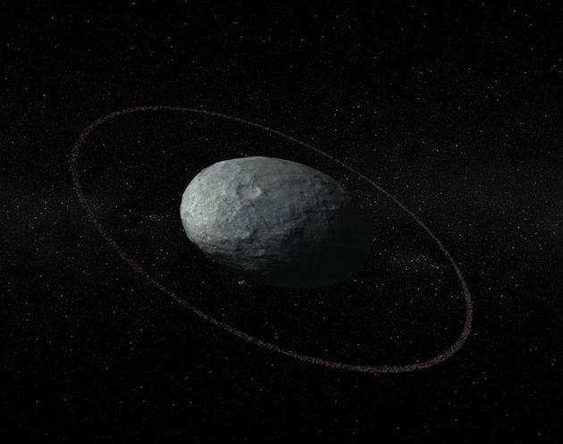 科学家发现妊神星光环:提供撞击事件线索