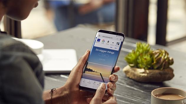 三星开放Android浏览器:自带习