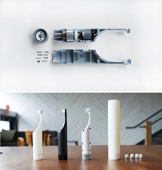 Be牙刷的拆解和构成