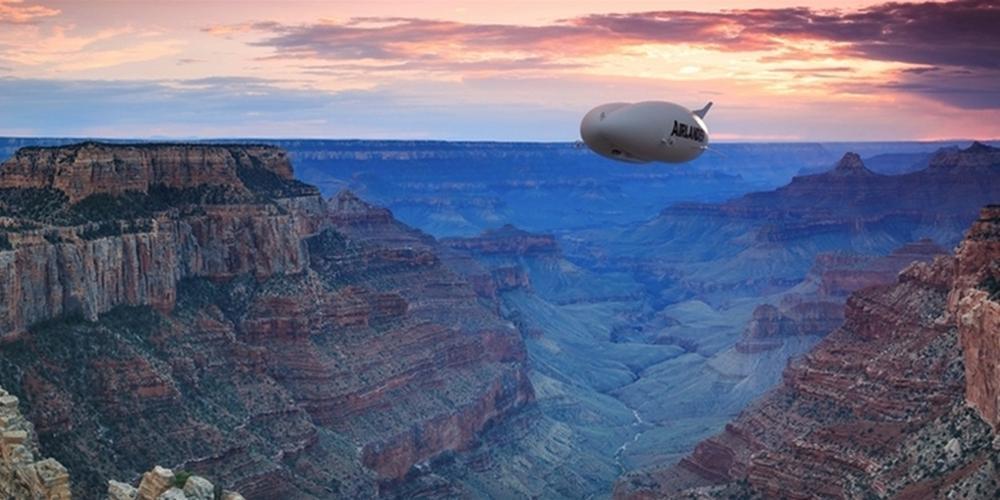 """世界最大飞行器或被打造成""""空中游轮"""""""