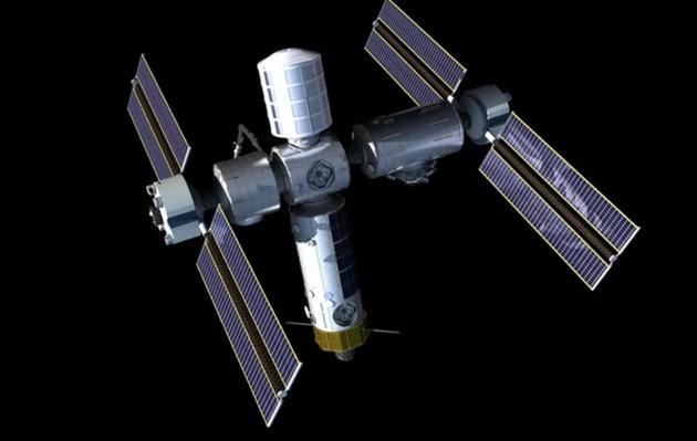 Axiom公司的私营空间站设想图