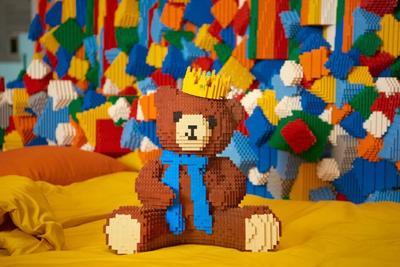 住到乐高之家里 让全世界的乐高玩具将你包围吧