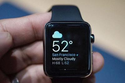 苹果Apple Watch 3被曝出故障:询问当天天气会死机