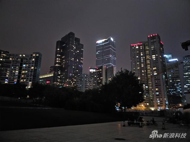 夜間拍攝樣張