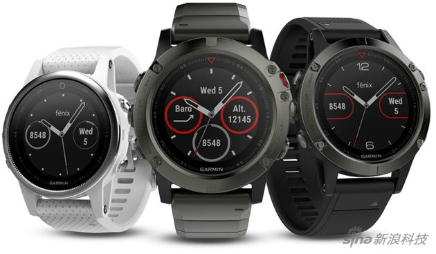 Garmin的运动手表系列