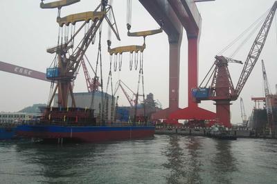 续航力达80公里 世界首艘两千吨级纯电动货船下水