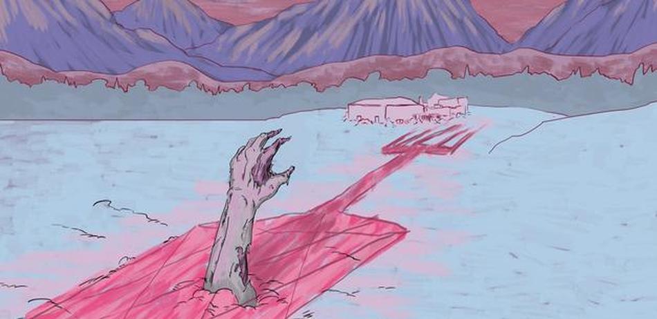 """气候转暖将使北极永久冻土带""""僵尸疾病""""复活"""