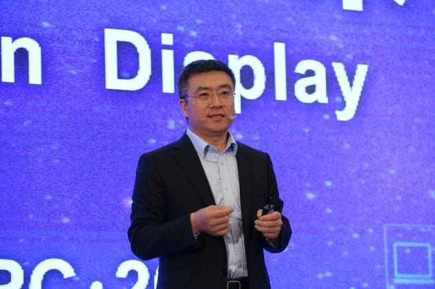 BOE(京东方)显示和传感器件事业群首席执行官张兆洪