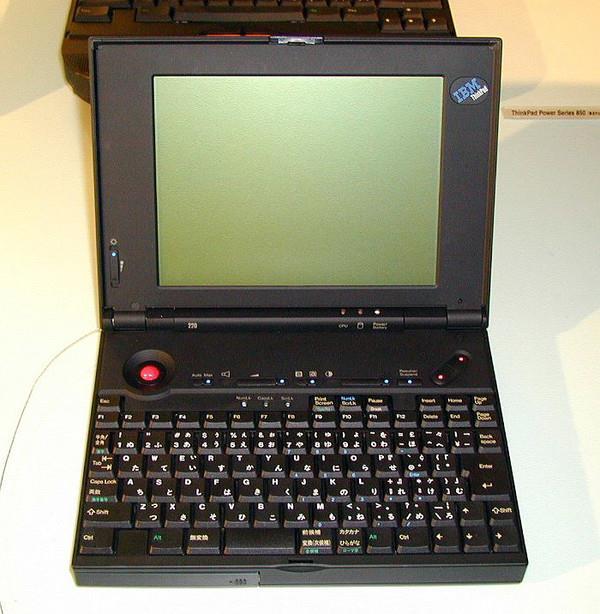 """最初的""""小红点""""需要配合键盘使用(图片来自网络)"""
