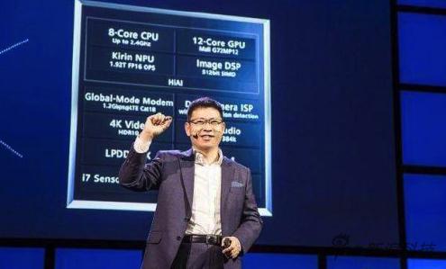 麒麟970晶片發布