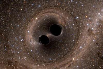 """""""宇宙之眼"""":模拟黑洞合并过程 探寻时空涟漪"""