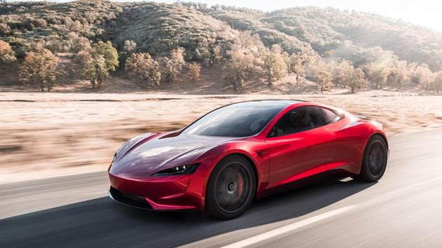 特斯拉发布的新款四座Roadster
