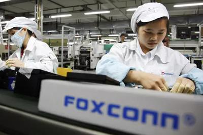 富士康郑州工厂停止非法使用实习生加班
