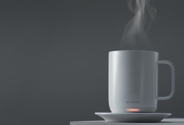 寒冬时节,这只智能陶瓷杯可以满足你的愿望