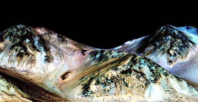NASA说火星上有液态水痕迹 但是地质学家否定了!