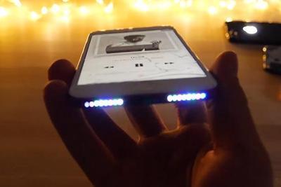 iPhone 7加装LED贴片灯后:杀马特效果辣眼睛