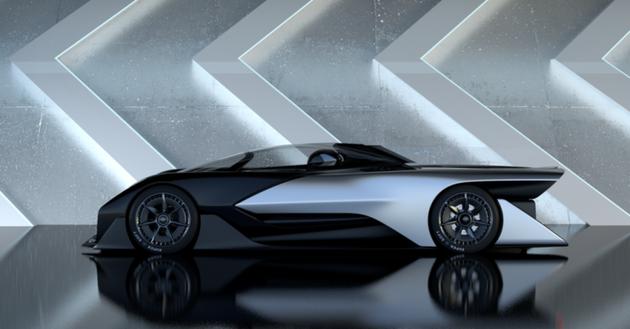 2016年CES展会上,法乐第未来展示的概念车