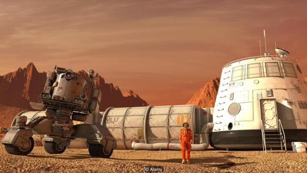 如果未来宇航员是为了适应太空生活而被设计,那么当他们在另一个星球上生活时,他们会处于劣势状况吗?